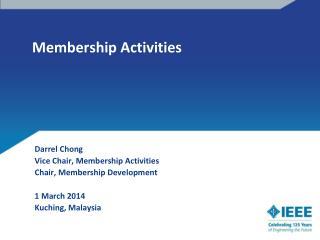 Membership Activities