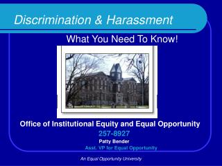 Discrimination & Harassment What You Need To Know!