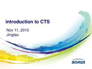 introduction to CTS