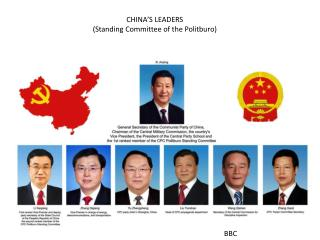 CHINA'S LEADERS (Standing Committee of the Politburo)