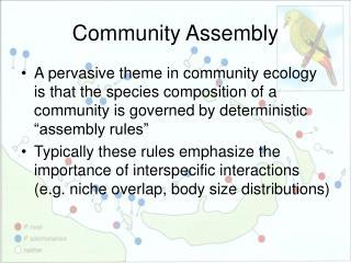 Community Assembly