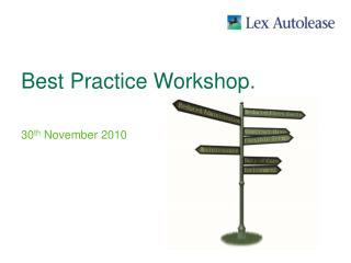 Best Practice Workshop.