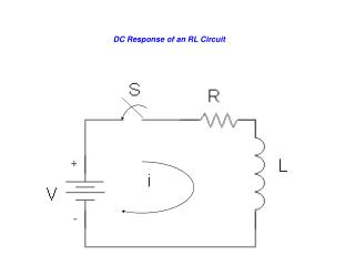 DC Response of an RL Circuit