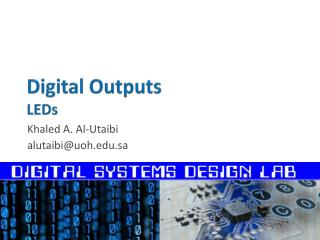 Digital Outputs LEDs