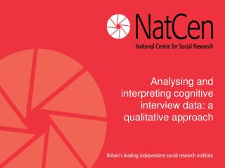 Analysing and interpreting cognitive interview data: a qualitative approach