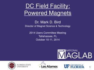 DC Field Facility: Powered Magnets