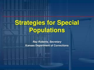 Strategies for Special Populations