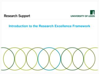 Introduction to the Research Excellence Framework