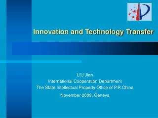 Innovation and Technology Transfer