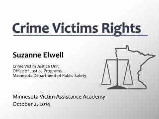 Crime Victims Rights