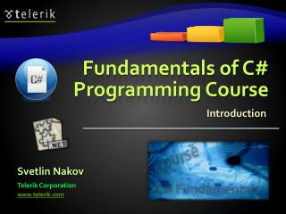 Fundamentals of C Programming Course