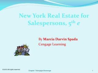 New York Real Estate for Salespersons, 5 th e