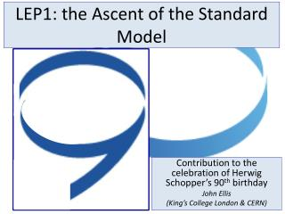 LEP1: the Ascent of the Standard Model