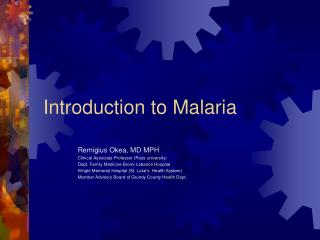 Introduction to Malaria