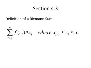 Section 4.3