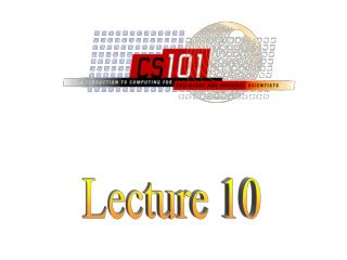 Lecture 10 10-2 What is the difference between machine