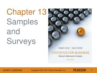 Chapter 13 Samples and Surveys