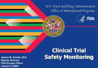 Clinical Trial  Safety Monitoring