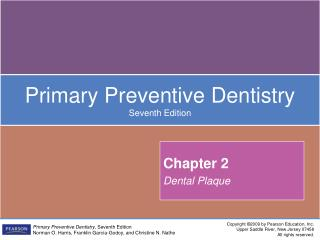 Chapter 2 Dental Plaque