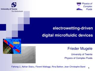 electrowetting-driven digital microfluidic devices