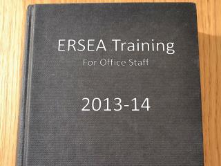 ERSEA Training  For Office Staff 2013-14