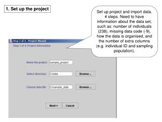 1. Set up the project
