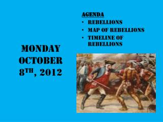 Monday October 8 th , 2012
