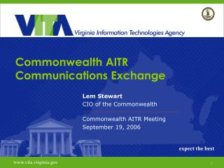 Commonwealth AITR Communications Exchange