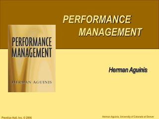 Performance Management  in Context:  Overview