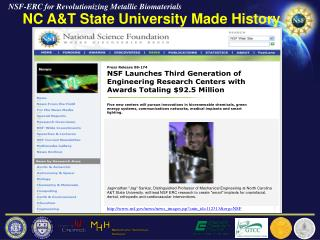 NC A&T State University Made History