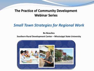 The  Practice of Community  Development Webinar Series