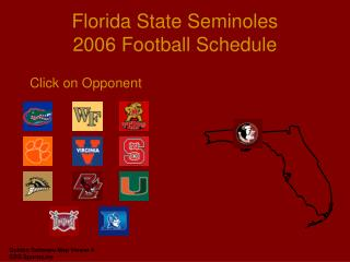 Florida State Seminoles 2006 Football Schedule