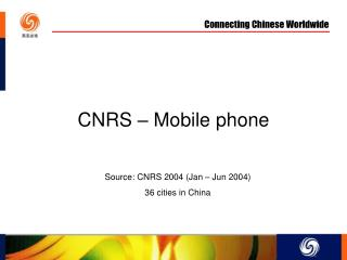 CNRS – Mobile phone