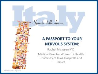 A PASSPORT TO YOUR NERVOUS SYSTEM:
