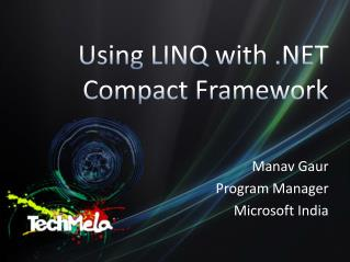 Using LINQ with  Compact Framework