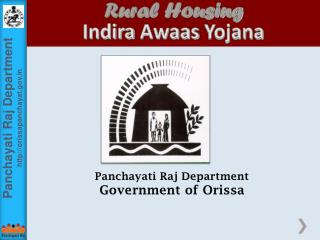 Panchayati Raj Department Government of Orissa