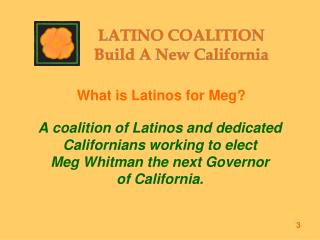 What is Latinos for Meg?