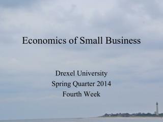 Economics of Small Business