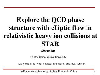 Explore the QCD phase structure with elliptic flow in relativistic heavy ion collisions at STAR