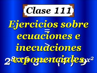 Clase  111