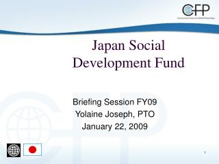 Japan Social Development Fund
