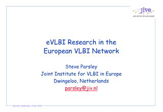 eVLBI Research in the European VLBI Network