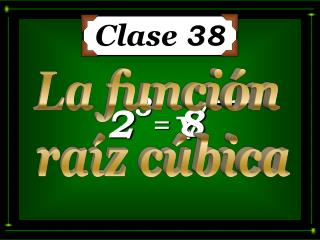 Clase  38