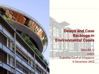 Delays and Case Backlogs in Environmental Cases