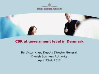 CSR at government level in Denmark