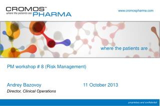 PM workshop # 8 (Risk Management)