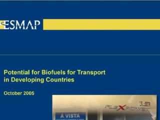 Why are biofuels attractive?