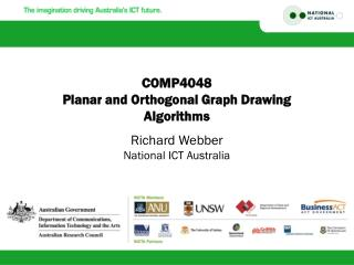 COMP4048 Planar and Orthogonal Graph Drawing Algorithms