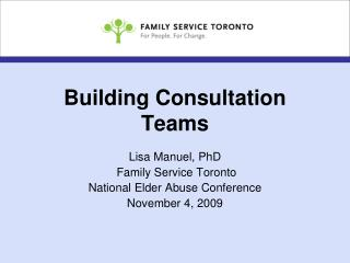 Building Consultation Teams