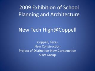 New Tech High@Coppell
